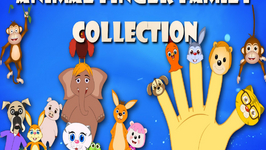 Collection Of Ten Animal Finger Family Rhymes - Volume 3