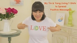 Yin and Yang Living T Shirts to Spread Positive Messages