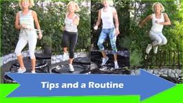 Burn More Calories than Jogging (Fitness Trampoline Rebounder)