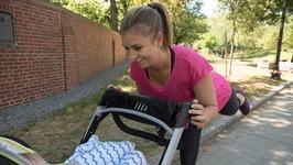 Fun Bodyweight Stroller Workout