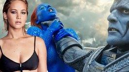 X-MEN PROMOTES FEMALE ABUSE BY CHOKING JENNIFER LAWRENCE AS MYSTIQUE