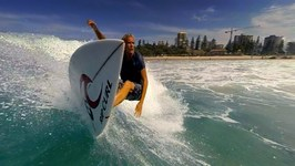 Surfing Snapper Rocks - Gold Coast Queensland Australia