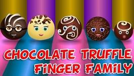 Chocolate Truffles Finger Family  Finger Family Songs