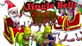 Jingle Bells Jingle Bells  3D Christmas Songs for Kids