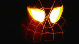 Betty's Husband Rick and Grandson Carter Carve Jack O'Lantern - Halloween