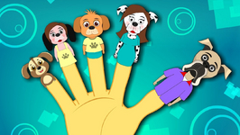 Dog Finger Family Nursery Rhyme For Kids