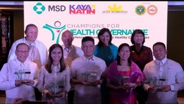 5 LGUs champions for health governance 2017