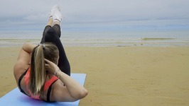 Cardio and Tone - Bodyweight Beach Circuit Workout HIIT