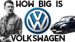How BIG Is Volkswagen? -They Own Lamborghini, Bentley, Bugatti, Porsche