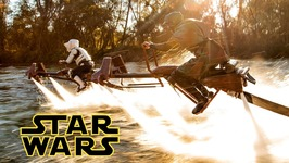 Star Wars - Speeder Bike Jetovator Battle in Real Life
