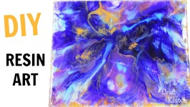 Abstract Resin Art - Awash  DIY Projects  Craft Klatch  How To