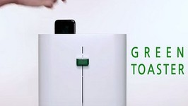Use A Green Toaster To Clean Your Smartphone