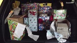 Man Arrested with Marijuana Wrapped Up Like Christmas Presents
