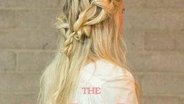 Easy Boho Rope Braid Hair Tutorial