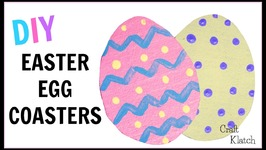 How to Make Easy Easter Egg Coasters  DIY Projects  Kids Crafts  Craft Klatch  Another Coaster F
