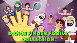 Finger Family Dance Collection  Samba Dance  Disco Dance  Flamenco Dance Family