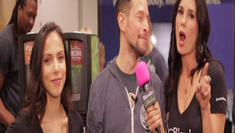 Celebrity Chef Jason Wrobel interviewed by Blender Babes at Natural Product Expo West