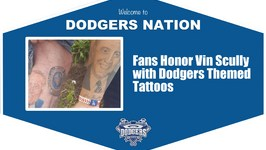 Stories By Scully Fans Show off Dodgers and Vin Scully Inspired Tattoos