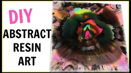 Abstract Resin Art  Dream  DIY Projects  Craft Klatch  How To