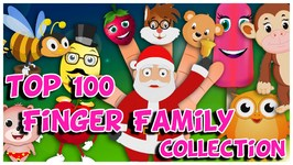 Top 100 Finger Family Collection - Back to Back Finger Family Rhymes - Cake Pop Family