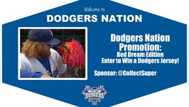 Dodgers Nation Promotion Red Dream Edition
