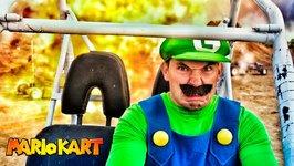 Mario Kart in Real Life - Luigi Death Stare