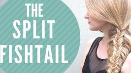 Split Fishtail Braid
