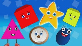 The Shapes Songs for Children  Shapes Rhymes for Children Medley
