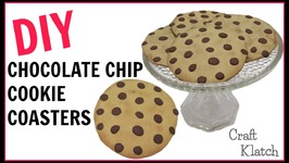 Polymer Clay Chocolate Chip Cookie Coasters  DIY Projects  Craft Klatch  Another Coaster Friday