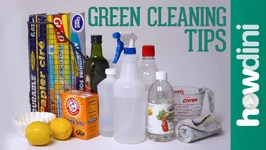 9 Green Cleaning Tips
