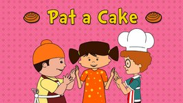 Pat A Cake  Nursery Rhymes  Animated Songs For Children