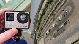 Dropping Gopro Off A Roof In Dubai