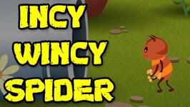 Incy Wincy Spider - Popular Nursery Rhymes