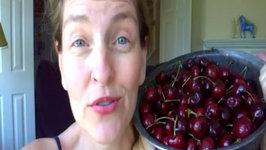 Kitchen Trick for Pitting Cherries