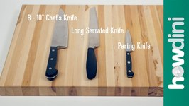 Knife Skills 3 Knives Every Home Kitchen Should Have