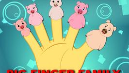 The Finger Family Pig Family Nursery Rhyme