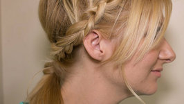 How to Braided Back Ponytail