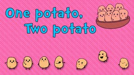One Potato, Two Potato  Nursery Rhymes  Animated Songs for Children