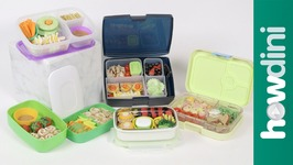 Healthy Lunch Ideas For Kids How to Pack a Bento Box