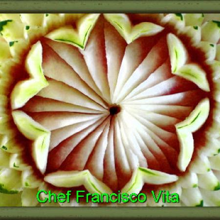 Chef Francisco Vitas Carvings 1