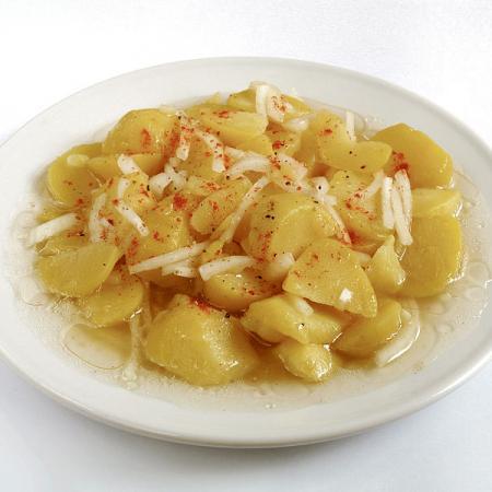 Potato Salad with Horseradish