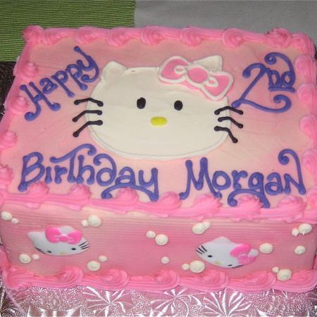 Morgans second birthday cake