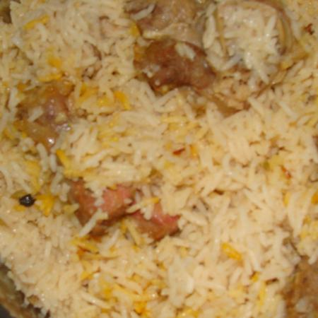 Ajmeri Chicken Biryani