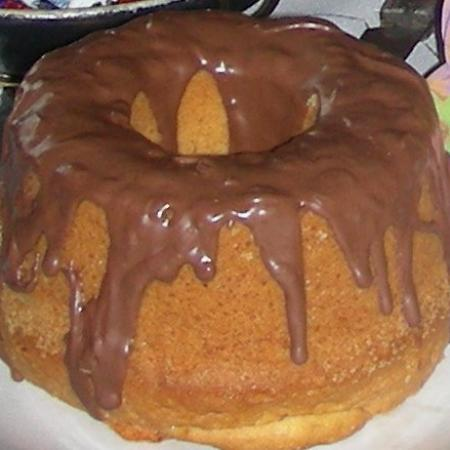 Easter Bundt Cake with Chocolate Icing
