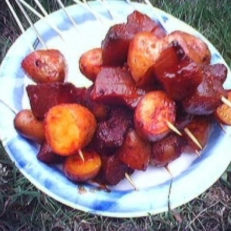 Barbecued Potato