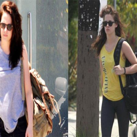 Kristen Stewart Hits Golds Gym after Cheating on Robert Pattinson