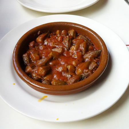 Bamia Ocras tomate