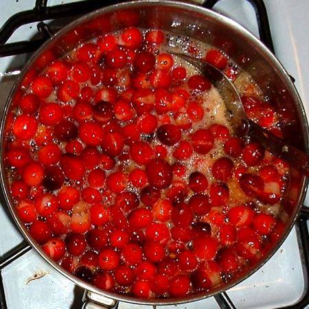 Cooking Cranberries