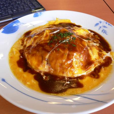 Omurice with Cheese