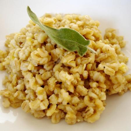 Lemon Barley Pilaf
